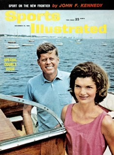 Jacqueline Kennedy i en solkjole fra Marimekko. Sports Illustrated,1960. Foto: David Drew Zingg