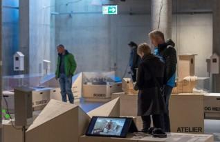 Bilde fra Hamar kulturhus. Foto: Annar Bjørgli, Nasjonalmuseet