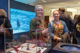 Åpning av utstillingen i Haugesund Billedgalleri. Foto: Nasjonalmuseet, Annar Bjørgli
