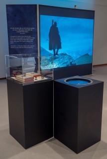 Da utstillingen stod i Haugesund Billedgalleri. Foto: Annar Bjørgli, Nasjonalmuseet