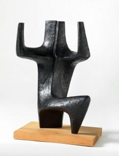 Sittende pike, 1959. Foto: Frode Larsen, Nasjonalmuseet