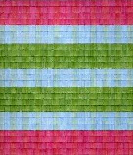 Abney II, Tusj/fargeblyant på rutepapir, 25 x 22 cm, 2013, Heidi Kennedy Skjerve