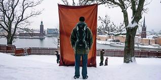 Savas Boyraz –The Triptych (2015), tredelt videoinstallasjon: Simko (2015, 3:03 min,i samarbeid med Martin Nordström), gjengitt med tillatelse fra kunstneren