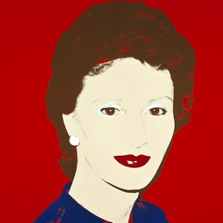 Andy Warhol. The Crown Princess Sonja. Foto: Nasjonalmuseet