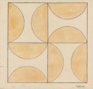 Sjablong - geometrisk mønster