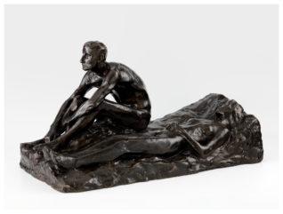 """Mann og kvinne, """"Natten"""" Foto: Annar Bjørgli, Nasjonalmuseet"""