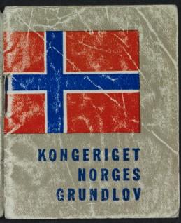 Kong Haakons lommegrunnlov Foto: Jan Haug, Det kongelige hoff