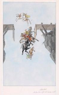 """Annine Qvale, 2005 """"Da hun kom utpå, sveiv lemmen rundt med bruden og alle de trollkjerringene som var brudekonene hennes Til """"""""Kvitebjørn Kong Valemon"""""""" i Den store boken med eventyr.  Oslo: Gyldendal Norsk Forlag, 2005"""""""
