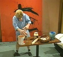 Ketchup og blod. Videoperformancer av Paul McCarthy