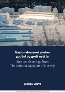 Julehilsen fra Nasjonalmuseet