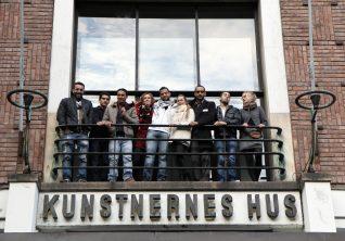 Andrea Lange, Atelier Populaire Oslo/ Palestinerleir - en dokumentasjon, 2012. Foto: Kenneth Korstad Langaas