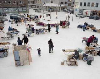 Russemarkedet. Kirkenes 2011. Foto: Michael Miller
