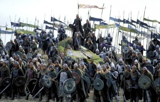 Warriors by Black Gate, The Lord of the Rings. The Return of the King, (2003). Copyright Warner Brothers.