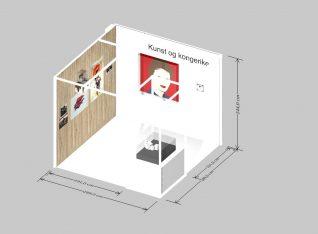 Kunst og kongerike. Design: Kine Liholm. Endringer kan forekomme